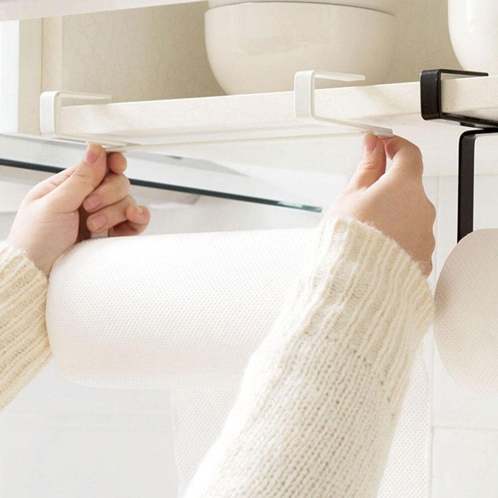 2017 Kitchen Bathroom Cabinet Door Toilet Tissue Roll Storage ...