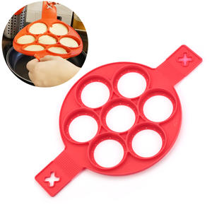 Pancake Maker Nonstick Cooking Tool Egg Ring Circular Silicon Mold Pan Flip Omelette Mold Kitchen Accessories