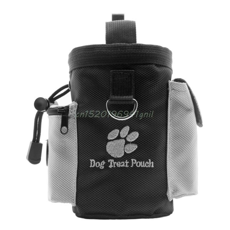 1 Pc Schwarz Hunde Behandeln Taschen Haustier Hund Welpen Obedience Agility Bait Ausbildung Wasserdicht Lebensmittel Treat Tasche Tasche