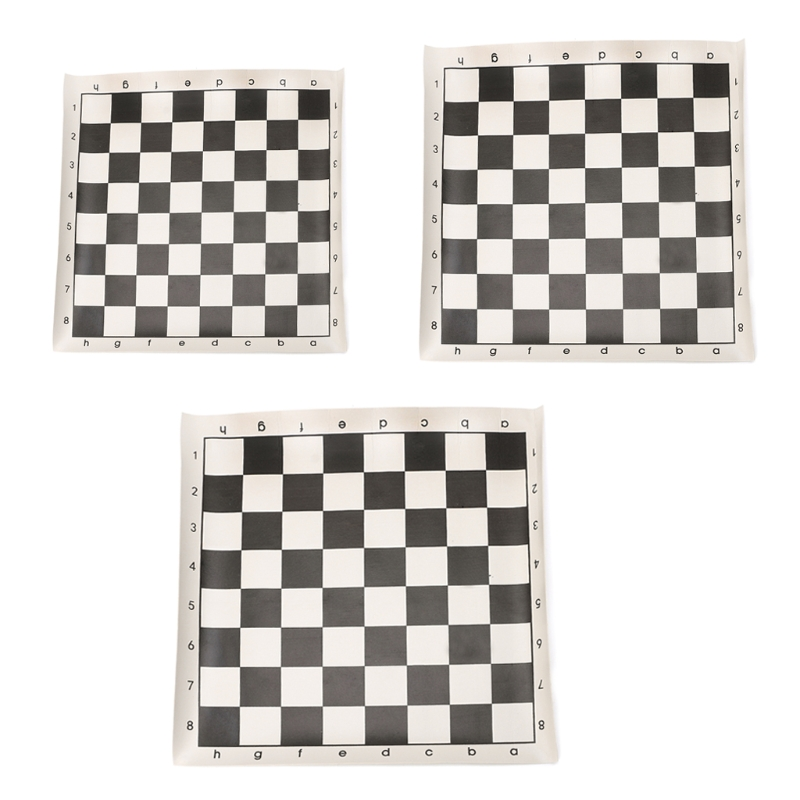 Hot Imitation Leather International Chess Chessboard Roll Portable Board Game Gift funny ...