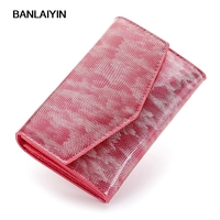 New Design Cow Split Leather Wallet Fashion Women Wallet Short Hasp Clutch Candy Color Coin Pocket Purse Card Holder