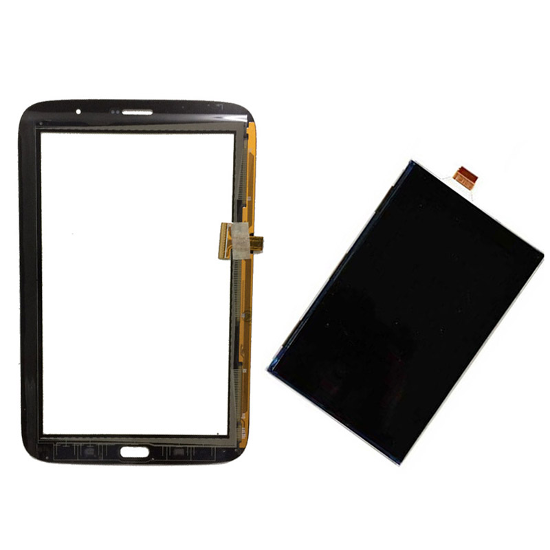 Black/White For Samsung Galaxy Note 8.0 N5100 GT-N5100 Touch Screen Digitizer Sensor Glass + LCD Display Screen Panel Monitor replacement digitizer touch screen for dual sim samsung galaxy gt i9082 white