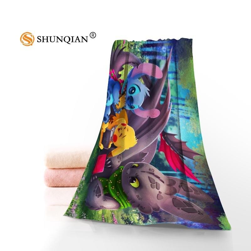Toalla de punto personalizada impresa algodón cara/toallas de baño tela de microfibra 35X75 cm, 70X140 cm toallas de Ducha