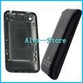 Branco ou preto de volta porta da bateria habitação para apple iphone 3g 3gs 8 gb 16 gb 32 gb rear habitação porta da bateria caso
