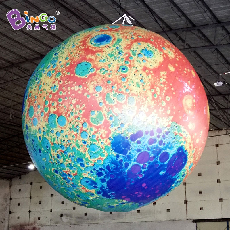 FACTORY OUTLET HOT SALES inflatable colorful moon customized size for decorationFACTORY OUTLET HOT SALES inflatable colorful moon customized size for decoration