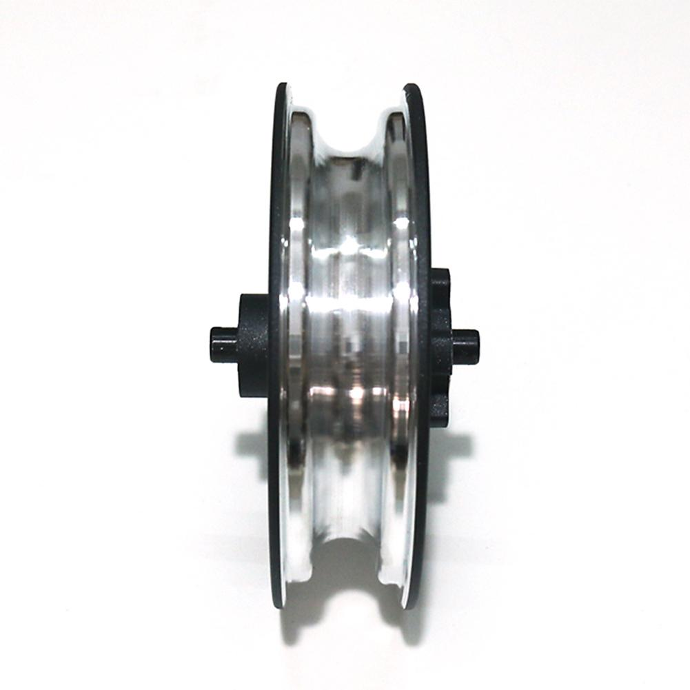 Image 4 - New Electric Scooter Durable Wheel Hub Aluminum Steel Rear Wheel Hub With Axle For Xiaomi M365 Electric Scooter Accessories-in Skate Board from Sports & Entertainment