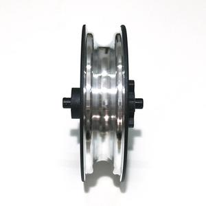 Image 4 - New Electric Scooter Durable Wheel Hub Aluminum Steel Rear Wheel Hub With Axle For Xiaomi M365 Electric Scooter Accessories