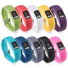 XBERSTAR силиконовый ремешок на запястье для Garmin VivoFit 4 фитнес-трекер Смарт-часы замена часы браслет