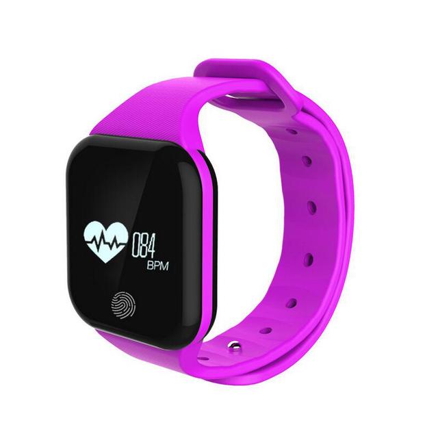 Altitude de Pressão de Ar Assistir Esportes Do Bluetooth Monitor de Freqüência Cardíaca Pulseira Anti-lost Lembrete Sedentário Smartband para iOS Android
