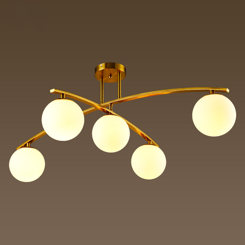Post modern minimalist ceiling light living room bedroom for Modern minimalist fashion