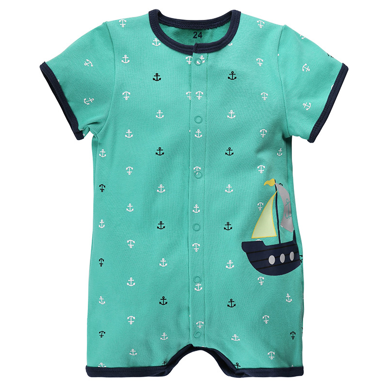 3e5dc9ce931f Baby Rompers Summer Baby Girl Clothes 2017 Baby Boys Clothing Sets Short  Sleeve Newborn Baby Clothes Roupas Bebe Infant Jumpsuit-in Rompers from  Mother ...