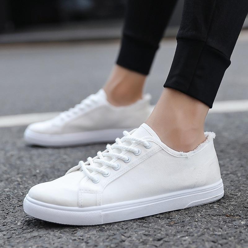Casual Shoes Men Cotton Canvas Shoes
