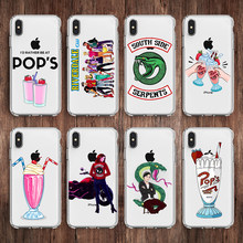 Soft Case Cover American TV Riverdale Phone case for iphone 5s se 6 6S Plus 7 7plus 8 8plus X XR XS MAX Transparent Silicone(China)