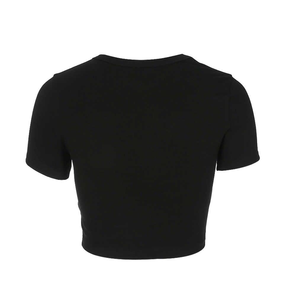 2019 ผู้หญิง tshirt พิมพ์เชอร์รี่เสื้อยืด harajuku t เสื้อ camiseta mujer haut femme magliette donna koszulki damskie drop shipping