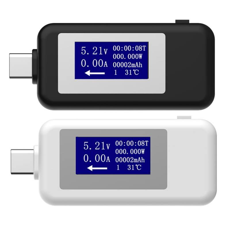 Type-c USB Tester DC Digital Voltmeter Usb Tester Voltage Current Meter Ammeter Detector Power Bank Charger Indicator Voltmeter
