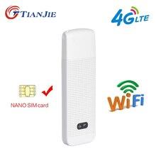 TIANJIE LDW922 3g 4G Универсальный мобильный wi-fi-роутер Портативный мини Беспроводной USB модем, usb модем с nano SIM карты