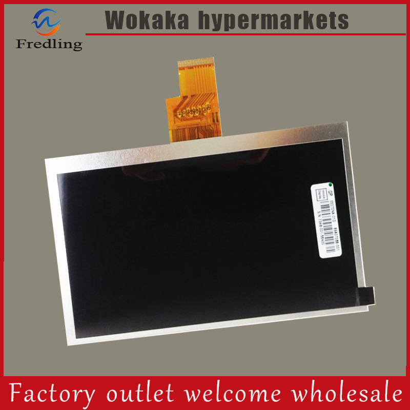 New 7 inch 1024 600 40pin LCD screen 100 New display size 165 105mm Tablet PC