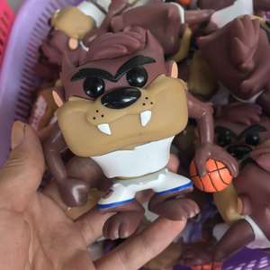 Funko Model-Toy Space Jam Basketball Collectible Action-Figure Vinyl with 10pcs/Set Taz