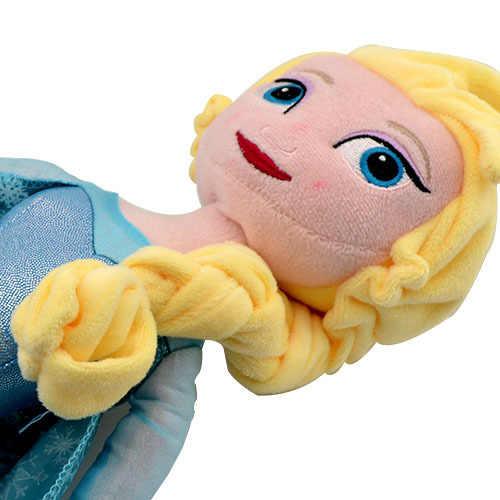 Кукла из мультфильма «Холодное сердце» Дисней, 40 см, мягкая принцесса, Эльза, Анна, игрушки Boneca, плюшевые игрушки, детский подарок на день рождения