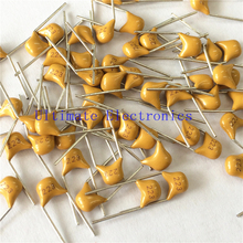 100pcs/lot  Multilayer ceramic capacitor 223 50V 22nF 223M P=5.08mm
