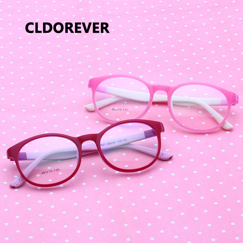 Brand Children Glasses Frame TR90 Flexible Silicone Safe Eyewear Myopia Prescription Optical Frames Kids Eyeglasses Girl Boys