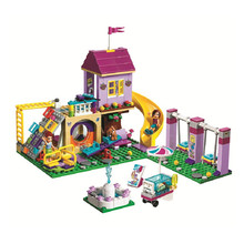 חדש 332 יחידות חברים ילדה סדרת Legoings 41325 דגם אבני בניין צעצועי החברים Heartlake מגדלור ילדי לבנים ילדה מתנה