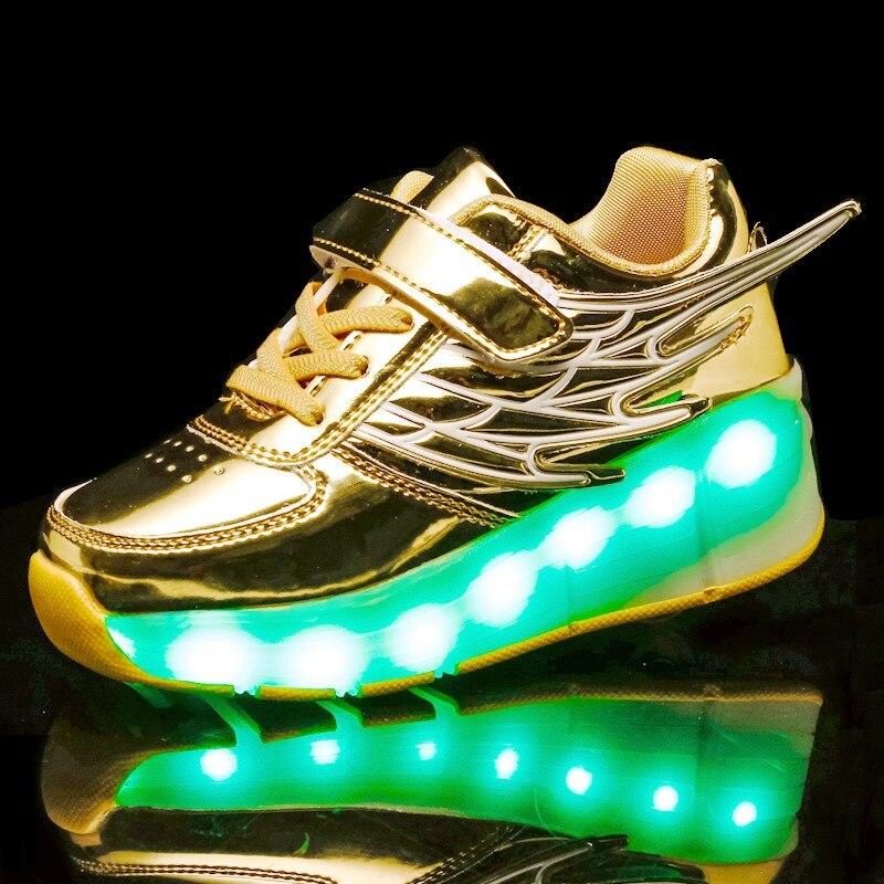 skate para criancas meninos meninas led sapatos 03