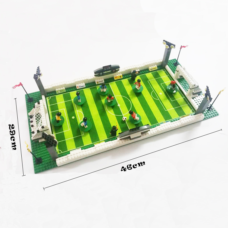 Model building kits compatible with  CITY football series 199 3D blocks Educational model building toys hobbies for children Blocks    - title=