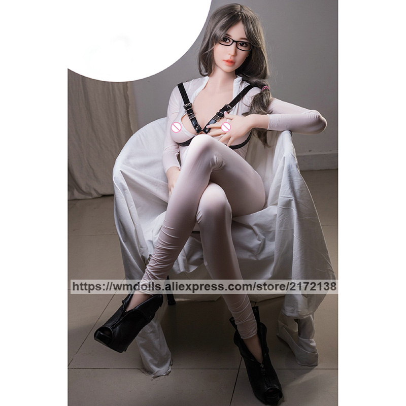 WMDOLL 163cm Realistic TPE Silicone Sex Robot Dolls Real Anime Love Doll Adult For Men Toys Sexy Ass in Sex Dolls from Beauty Health