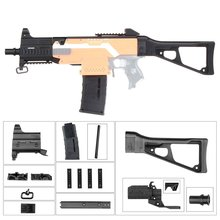 WORKER F10555 UMP9 Rifle Imitation Kit 3D Printing High Strength Combo For Stryfe Modify Toy For Nerf Parts Toys Accessory Gift