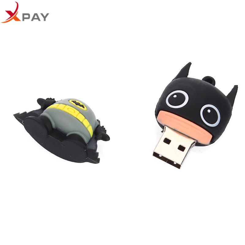 Image 5 - USB 2.0 Cartoon Captain America Usb Flash Drive 32GB 16GB Pen Drive 4GB 8GB 64GB Pendrive 128GB Silicone Storage for gift U Disk-in USB Flash Drives from Computer & Office