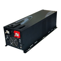 DECEN 24V 6000W Peak Power12000W Low Frequency Pure Sine Wave Power Inverter With Charger LCD Display