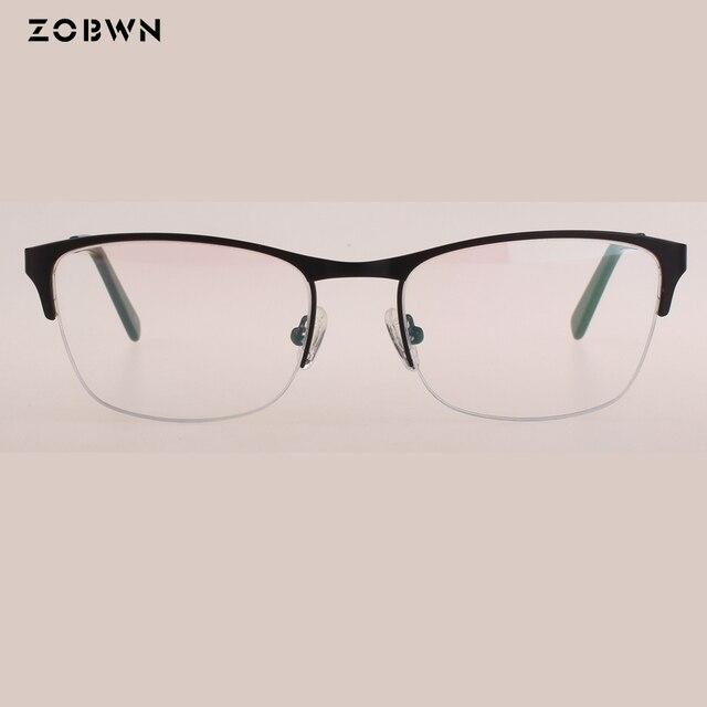 afca32d8f225c Óculos mulheres quadro Lunettes oculos de grau feminino design de moda  metade aro óculos oculos de