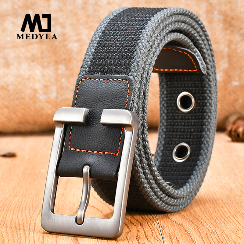 MEDYLA New Men & Women High Quality Russia Tactical Belts Hot brand Military Casual Strap Jeans Belts for men, Gift For Men