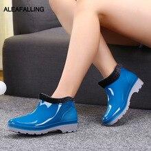 Aleafalling/женские непромокаемые ботинки, женские ботильоны, непромокаемые женские ботинки со съемным утеплителем и защитой от дождя, обувь для девочек, AW17