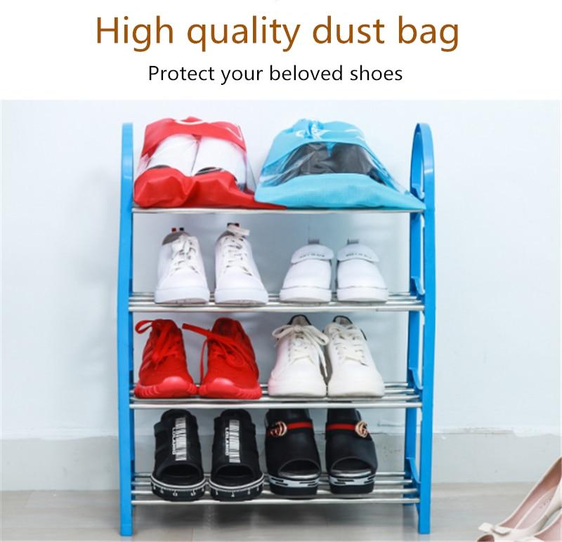 2 Sizes Waterproof Shoes Bags Pouch Women Travel Bag Portable Drawstring Bag Packing Organizer For Men Journay Organizador Bag