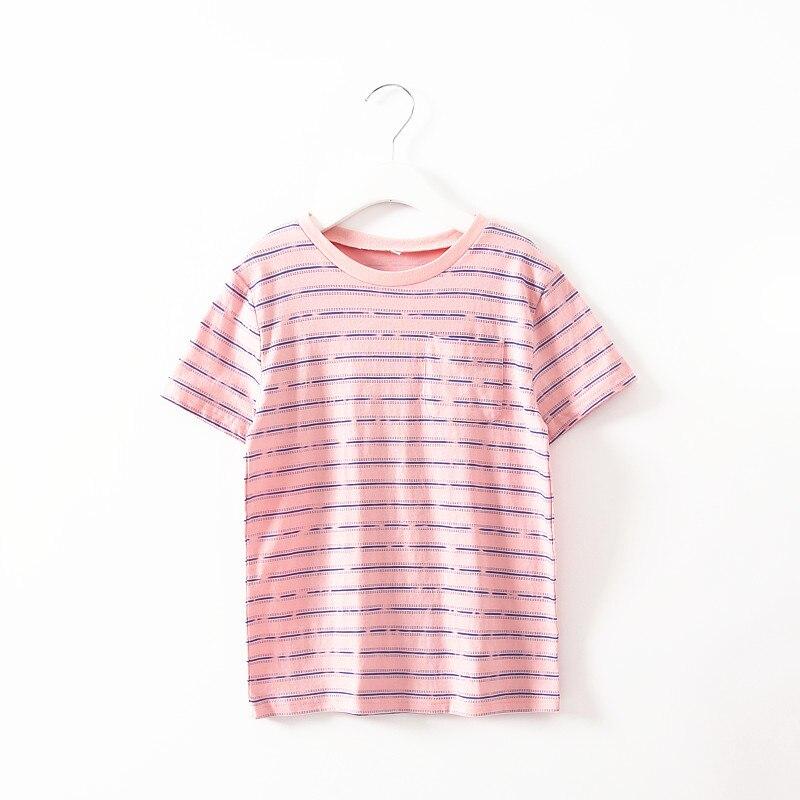 a5711edd7 2015 جديد حار بيع الصيف نمط قصيرة الأكمام بيبي جيم الاطفال فتاة الملابس تي  شيرت فتاة قمم أزياء رخيصة TS003-3s