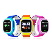 IYURNIXNUHS GPS Touch Screen Smart Watch with WIFI SOS Call Location Device Tracker for Kid Monitoring Q90