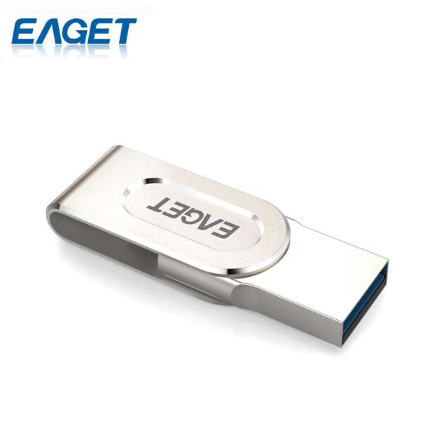 EAGET V88 Ultra Mini 64G USB Flash Drive USB 3.0 Flash USB Pen Drive OTG  2 In 1 U Disk Storage Stick PC Laptop For Smart Phones