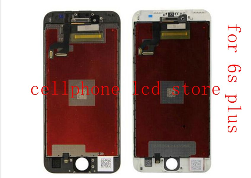 5.5 For Iphone 6s plus Touch Glass Panel Digitizer+LCD Display assembly replacement screen black/White Pantalla