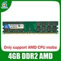 DDR2 800/667 4 ГБ ram memoria настольных работа amd плат совместимость оперативной памяти ddr2 pc2-6400 Пожизненная Гарантия!