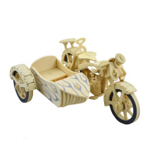 Wooden Tricycle Motorcycle Model