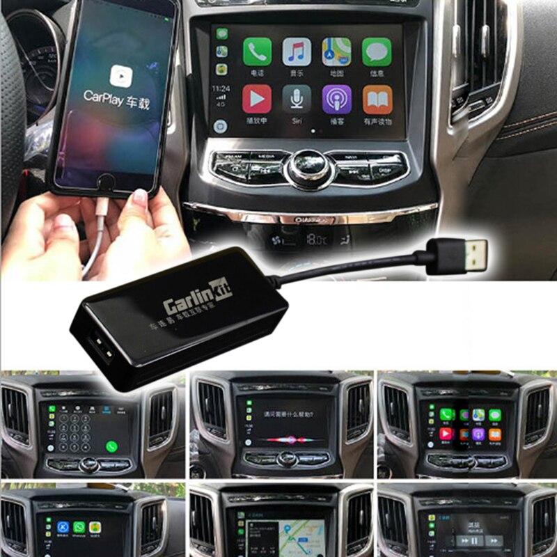 Adaptateur USB CarPlay pour unité de tête de voiture Android 1 Plug and Play pour écran tactile