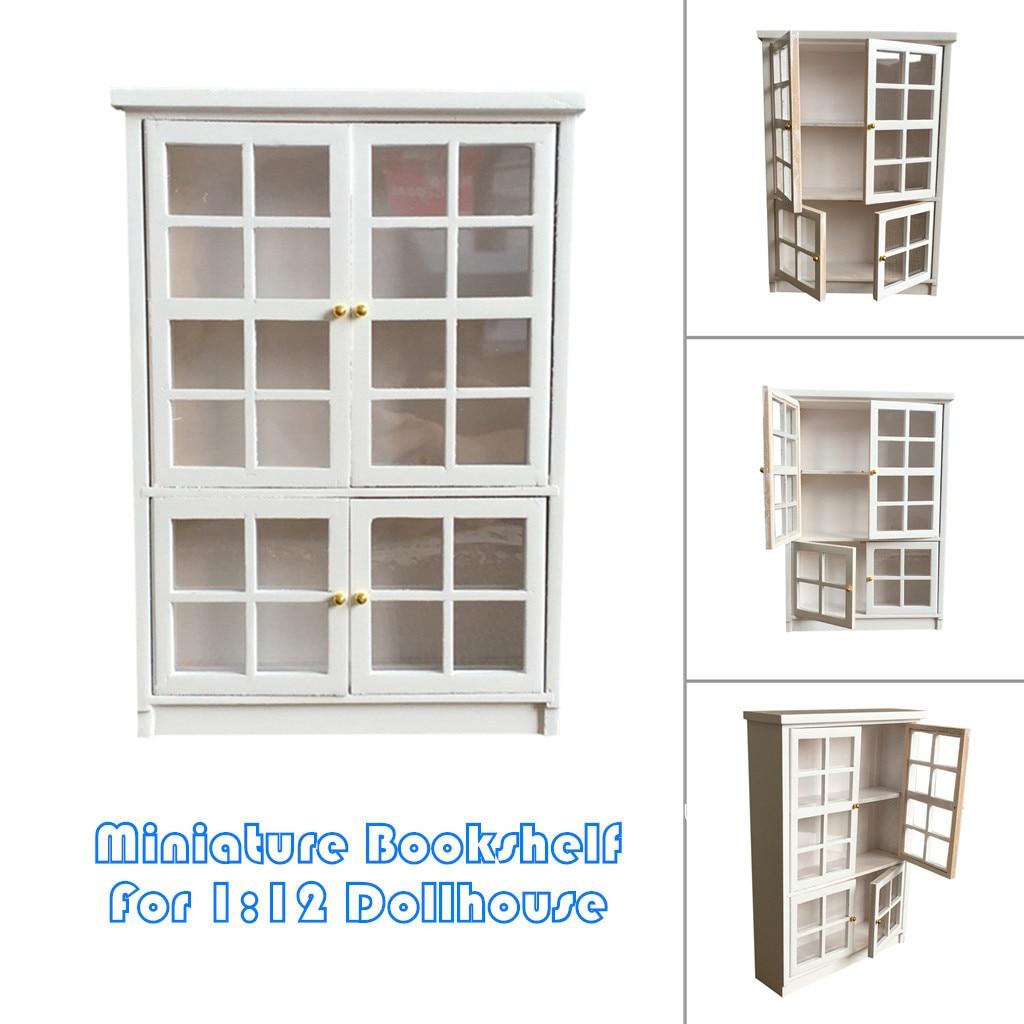 7 28 1 12 Dollhouse Miniature Kitchen Furniture White Cupboards
