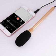BUB Smartphone Interview Recording Microphone Directional Mic for iPhone 6s Plus Se 6 5 for iPad Air Pro Android Phones