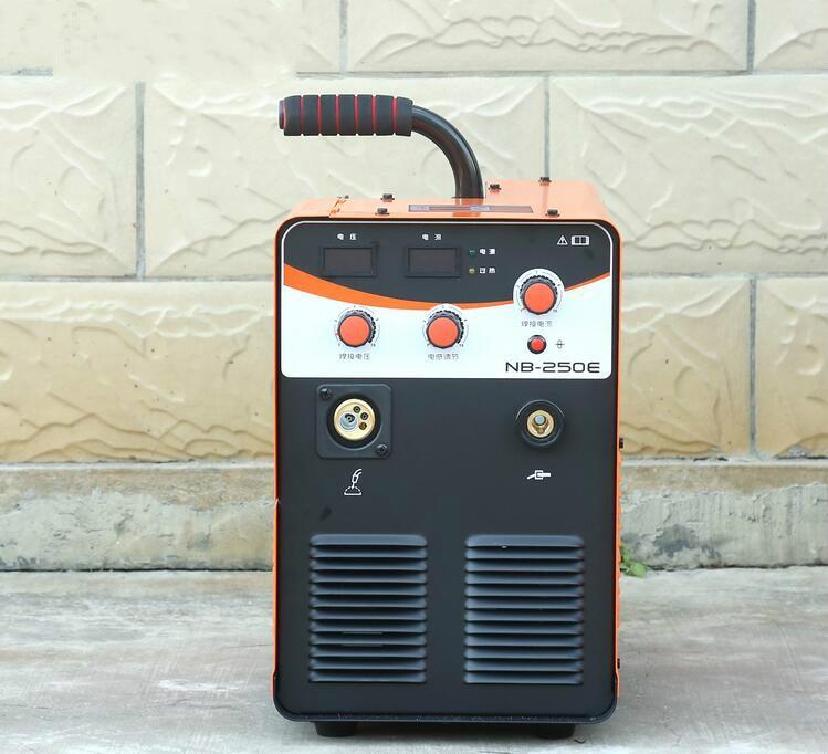220V jednofazowy IGBT CO2 spawanie mig maszyna NB-250E