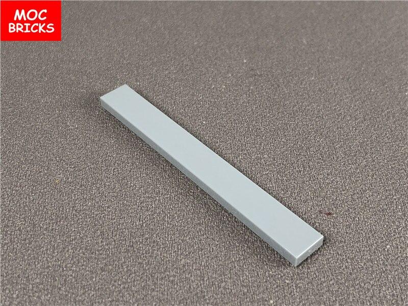 No 4162 LEGO Parts White Tile 1 x 8 QTY 10