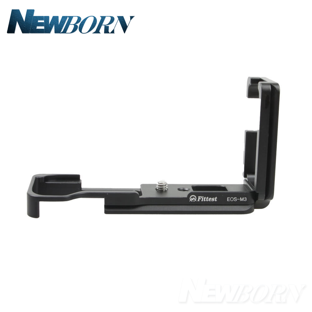 Hot Sale Pro Vertical L Type Bracket Tripod Quick Release Plate Base Grip Handle For CANON EOS M3 Camera