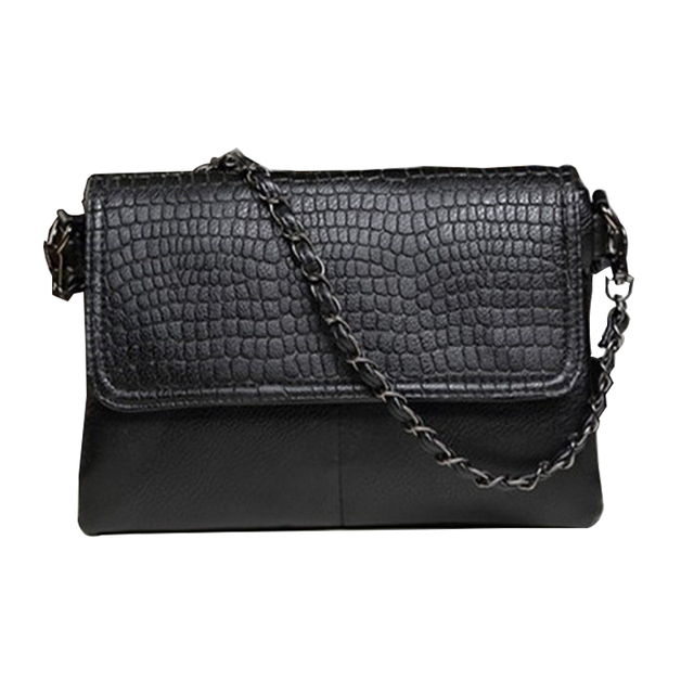 Women New Bags Handbag Tote Crossbody Shoulder Sling Fashion Leather Messenger Envelope Evening Clutch Black Chain Female Luxury