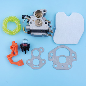 Image 2 - Carburetor Carb Air Filter Primer Bulb Fuel Line Kit For McCulloch CS380 CS340 CS 340 380 Chainsaw Switch Lever Replacement Part